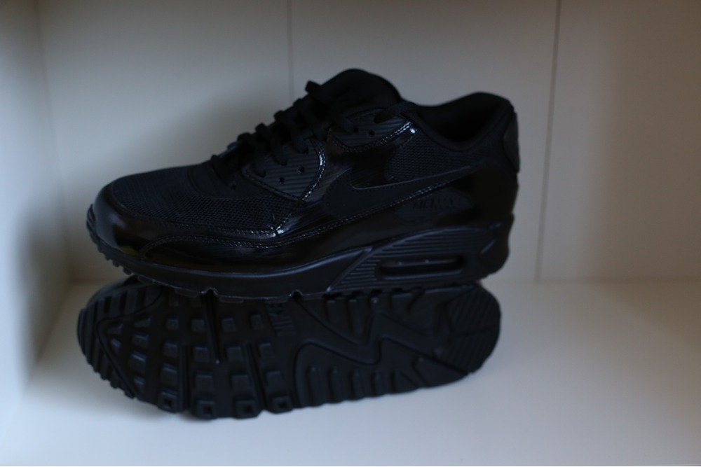 achat tom tom - Nike Air Max 90 PREMIUM Black \u0026amp; Metallic Silver (#264911) from ...