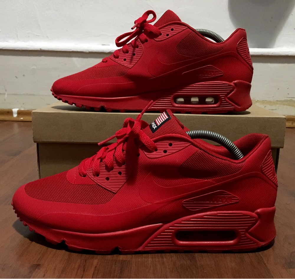 sneakers for cheap 7edb9 d7a04 ... spain air max day red 2d55e e3579 spain air max day red 2d55e e3579   where to buy item 3 nike air max 90 hyperfuse red independence ...