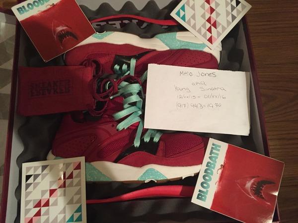 """Sneaker Freaker x Packer x Puma BOG """" <strong>Bloodbath</strong>"""" - photo 1/9"""