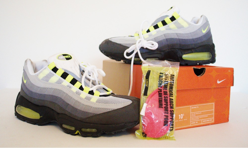 huge selection of 6dd7a 4f9b9 footpatrol  Ds nike air max 95 neon 2003!!! sz us!10.5 uk9.