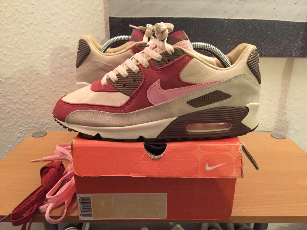info for 146fb e3521 ... Nike Air Max 90 dqm Bacon UK 7 US 8 patta supreme (267545 .