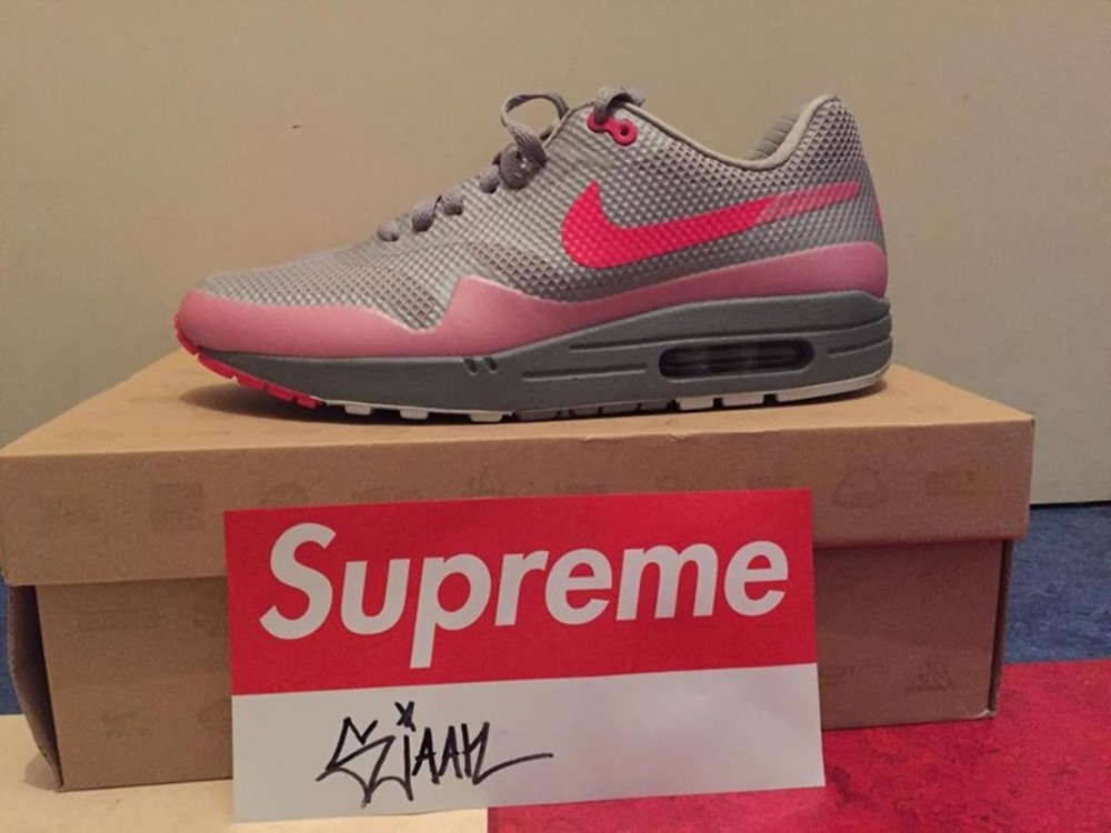 ... Nike Air Max 1 hyperfuse PRm grey solar red (#269047) from sjaan at ...