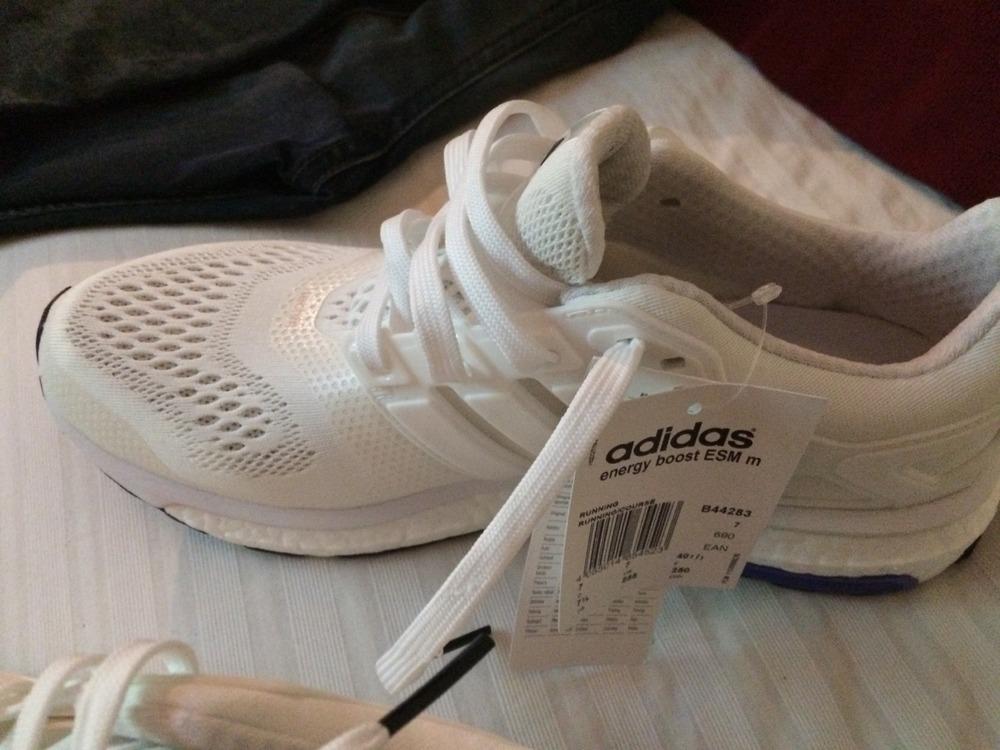 sale retailer d3944 aeae9 Adidas Men s Energy Boost 3 Grey Black Blue (AF4921)