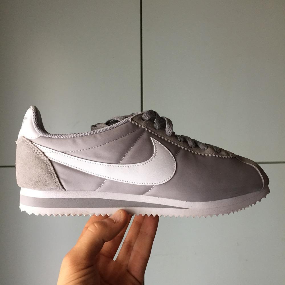 Grey Nike Cortez
