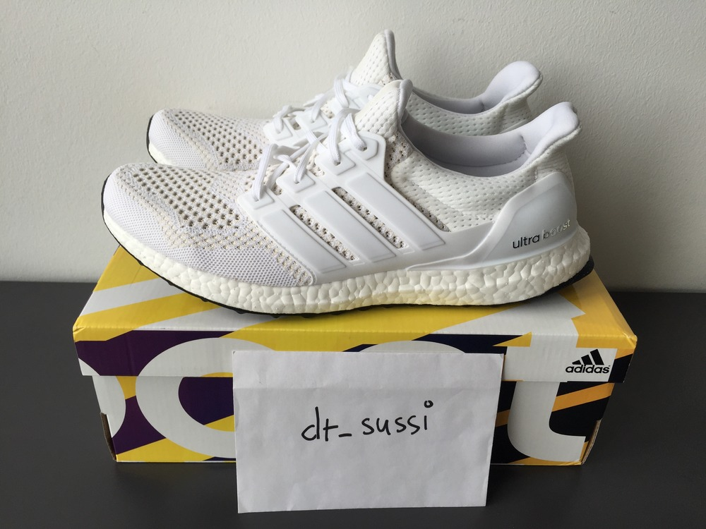 new style 6cc15 aa26e Adidas Ultra Boost White Ebay usapokergame.co.uk