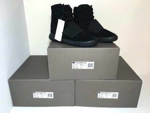 496b945e9 ... spain adidas yeezy boost 750 triple black by kanye west 2f34b 03711