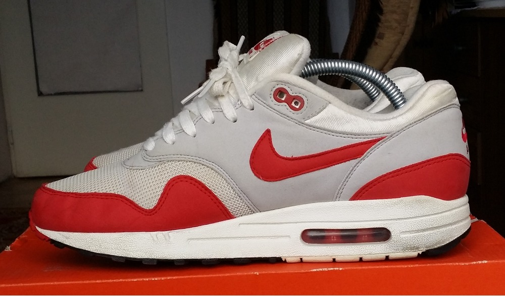 meet a3040 c297e ... Nike Air Max 1 OG Varsity Red 8,5US26,5CM RARE ...