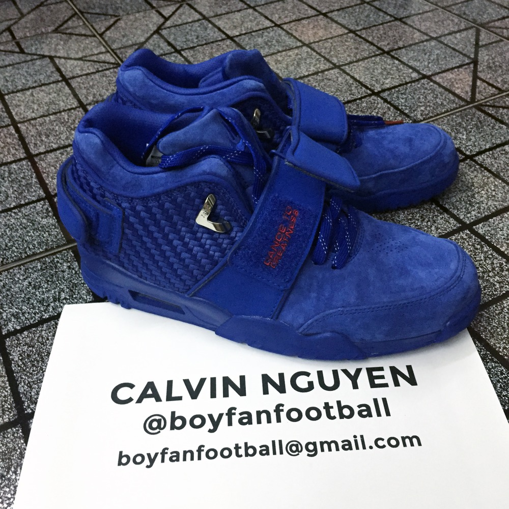 db00ed00be6 ... cheapest jersey nike air trainer cruz quotnew york giantsquot youth nike  new york giants 80 victor