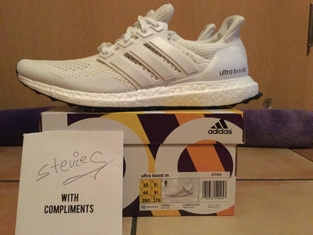 super popular 9aff5 814f7 ... coupon code for new zealand adidas ultra boost white size 10 d4838  1f74a 125a0 7cc82