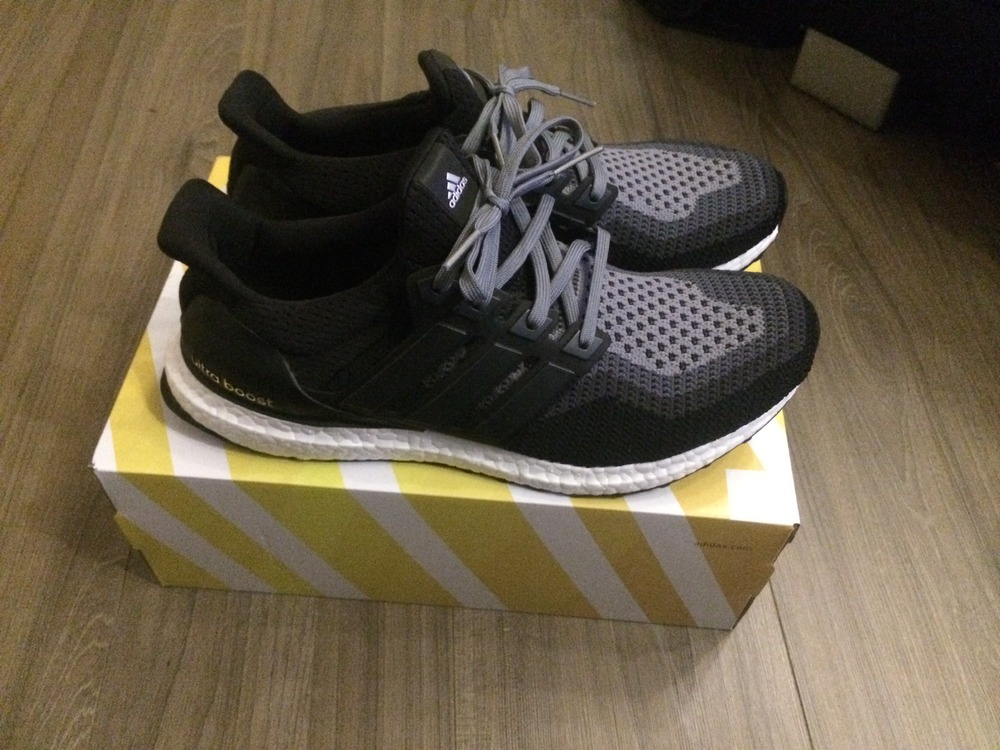 the latest 64a17 2e54c Adidas Ultra Boost Grey Black