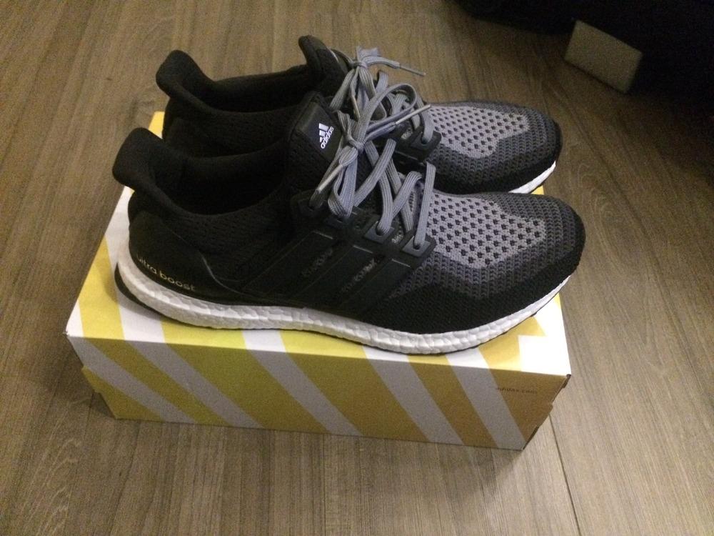 9f62bc56745ec Adidas Ultra Boost Black Gray wallbank-lfc.co.uk