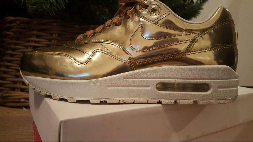 new product 66c51 bf97c ... Nike Air max 1 Liquid Gold EU size 39 - photo 26 ...