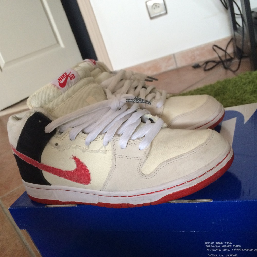 reputable site a487a 365e8 ... new style nike dunk mid pro sb street fighter edition ryu photo 1 3  1353c 50d8d