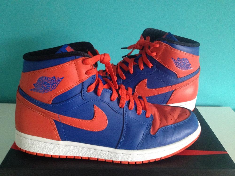 660ab85f6434 ... Air Jordan 1 Retro High OG Knicks - photo 17 Nike ...