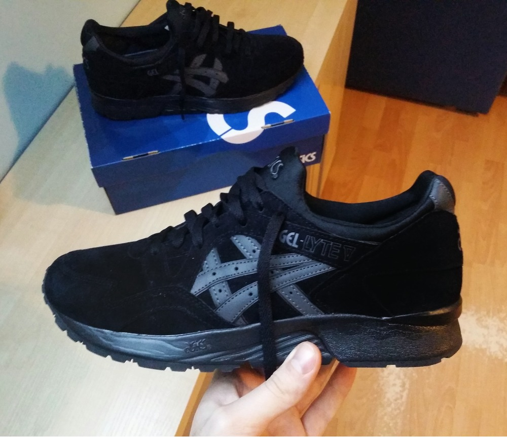 low priced c7900 ce44a Buy asics gel lyte 5 all black cheap