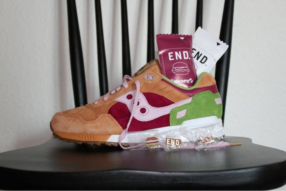hot sale online 15446 5eb5a win free end. x saucony shadow 5000 burger