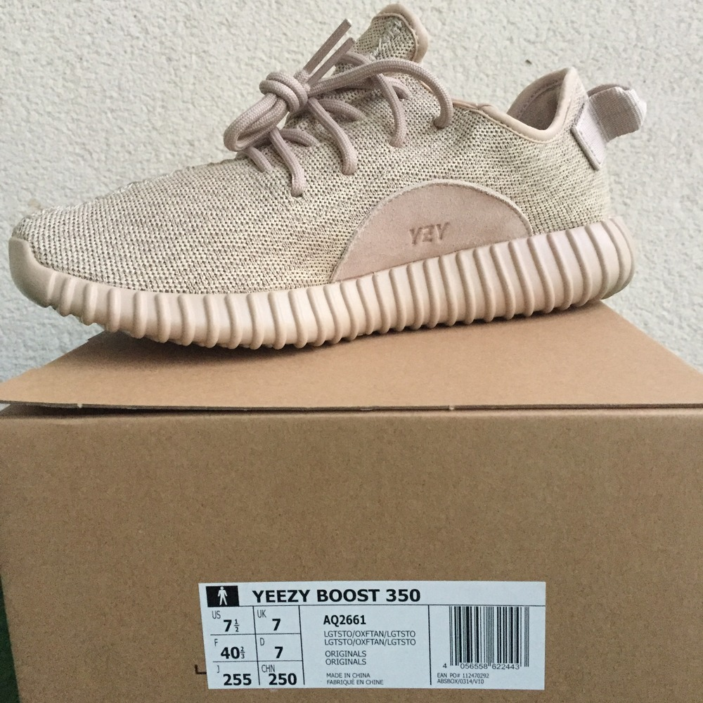 1837e20b704 Yeezy Boost 350 Oxford Tan UnBoxing & On Foot - Yeezy 350 Oxford Tan