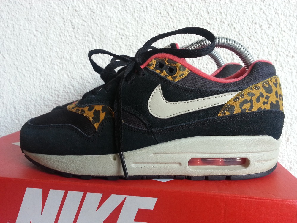 air max 1 black leopard