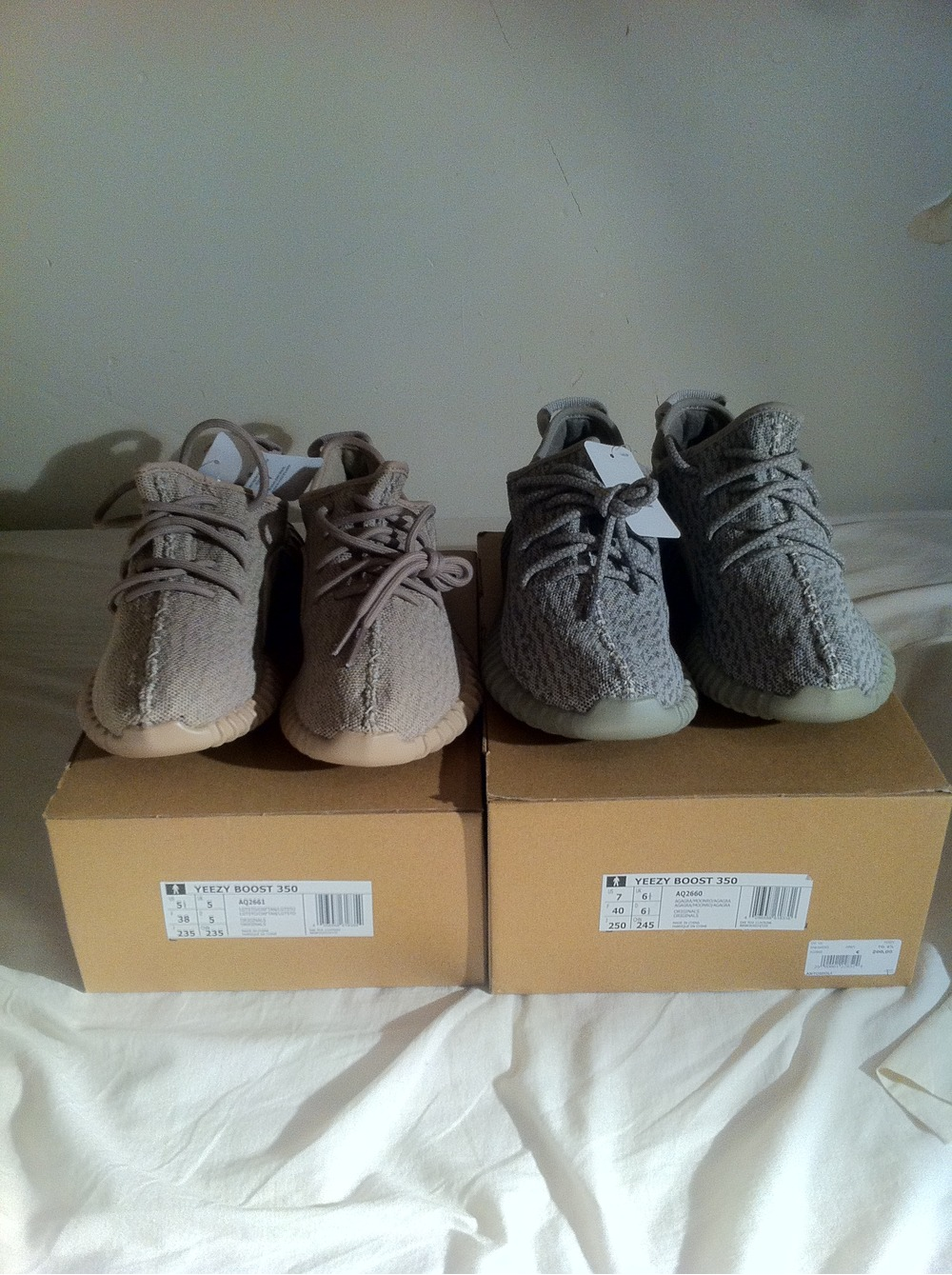 eabfb2c47ddb1 Yeezy 350 Boost Sale Beluga Sneaker News JC White. Tips on Kicks  Real vs  Fake Yeezy boost 350 on Sale Oxford Tan