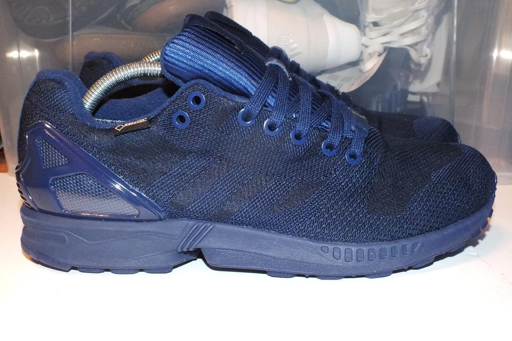 787af0e07445e Mens Shoes adidas ZX Flux Weave OG GTX Dark Blue   Dark Blue