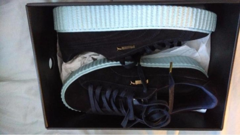 Puma Fenty Black And Blue