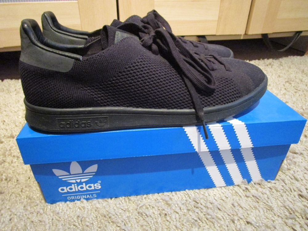 huge selection of 30afa a50c9 adidas stan smith primeknit black