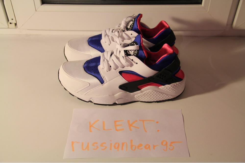 4c08813798dd Nike Air Huarache Og Pink Blue