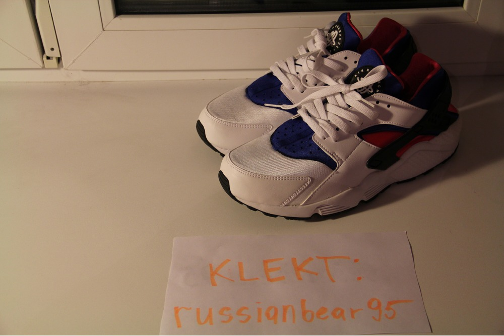7897e8260d3d31 ... Nike Air Huarache OG Royal Blue Pink 318429-146 - photo 3 5