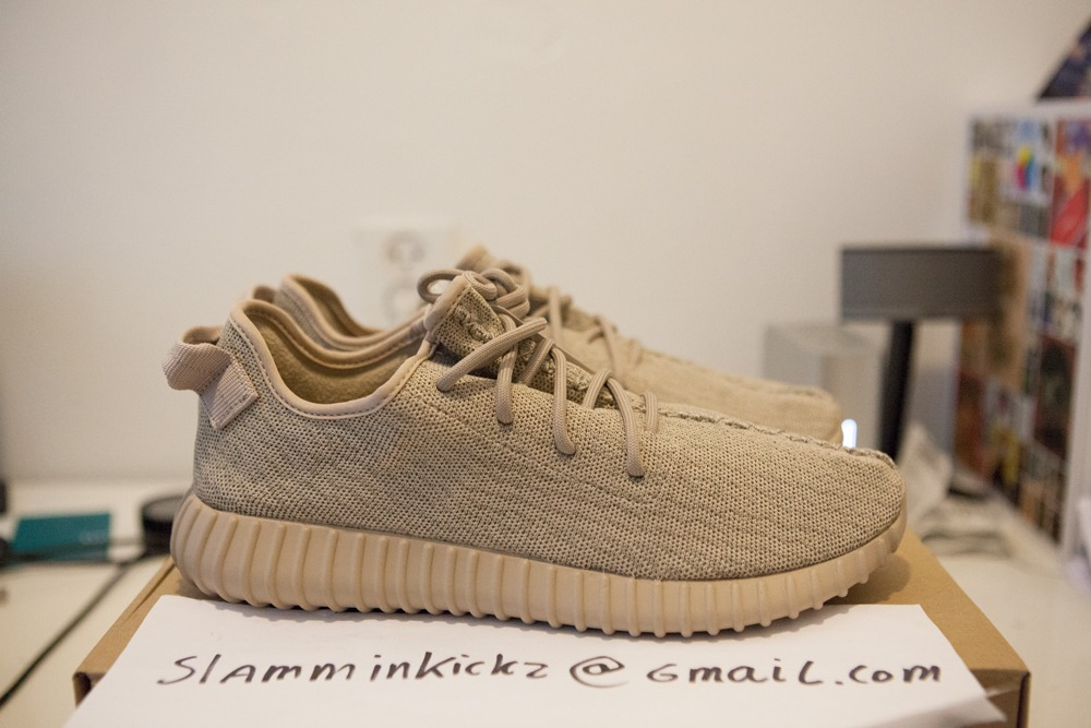 Adidas Yeezy Boost 350 Oxford Tan w Receipt AQ2661 Sz US 9 5 UK