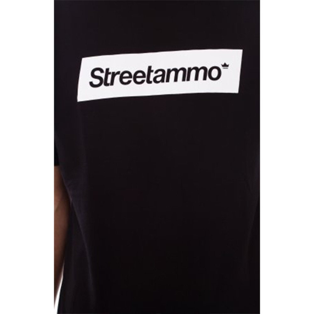 streetammo box logo tee also in white and burgundy 281169 from ash at klekt