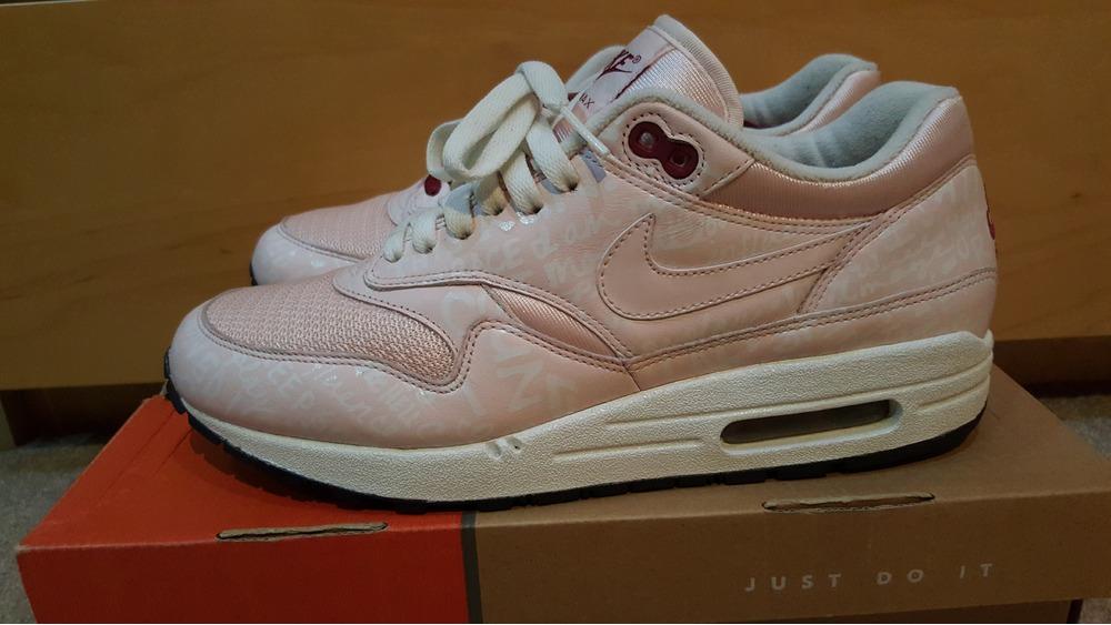 Nike Air Max 1 Pink Powerwall
