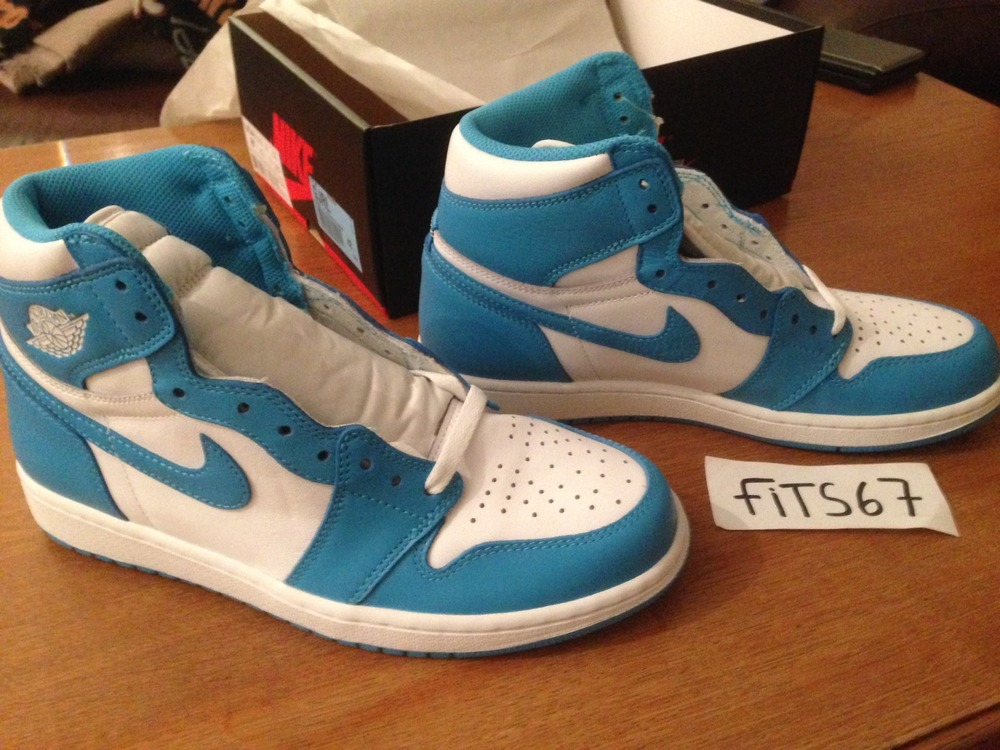 timeless design 3229f 65f7d ... Nike Air Jordan 1 High OG UNC Blue Powder GS EUR 38,5 - 39 .