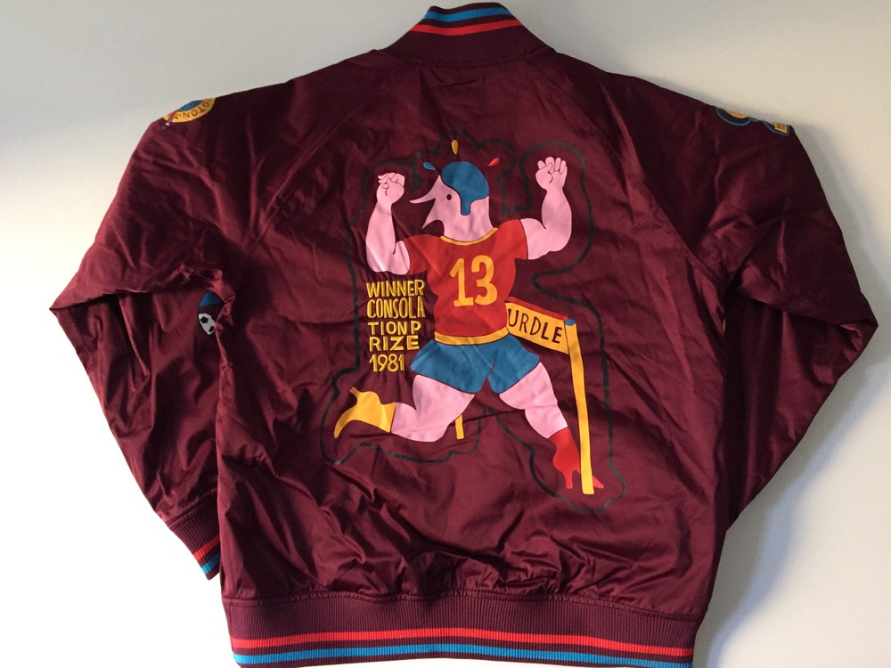 best sneakers e1835 6b761 parra varsity jacket