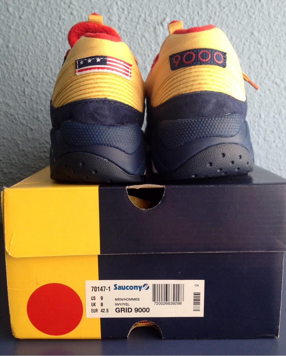 BUY Packer Shoes X Saucony Grid 9000 Snow Beach | Kixify