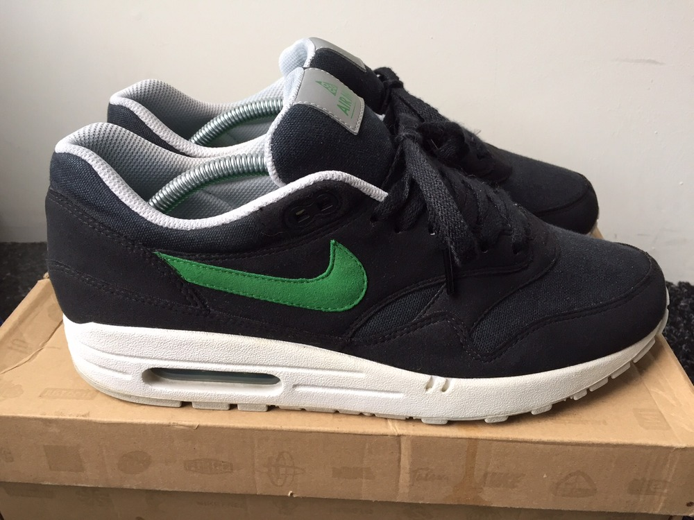 promo code ce3f1 f9ec6 ... nike air max 1 acg black green