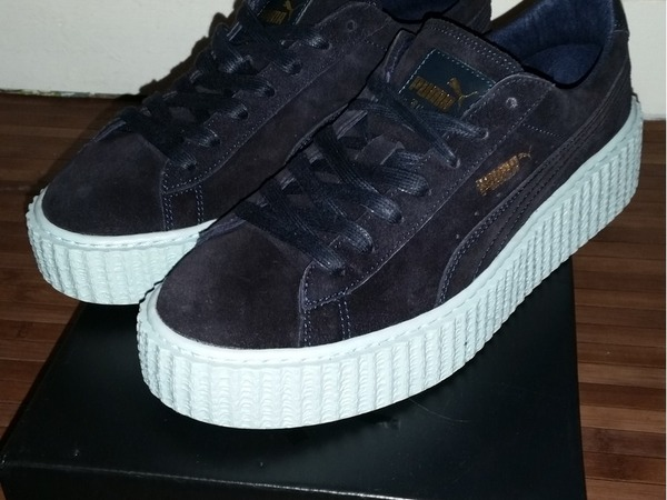 watch dcbad 86400 Puma Rihanna Creepers Blue wearpointwindfarm.co.uk
