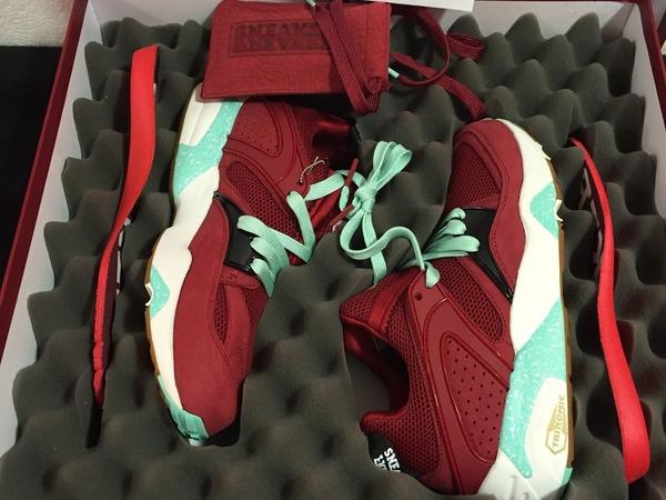 Puma Blaze of Glory Sneaker freaker x Packer Shoes <strong>Bloodbath</strong> - photo 1/2