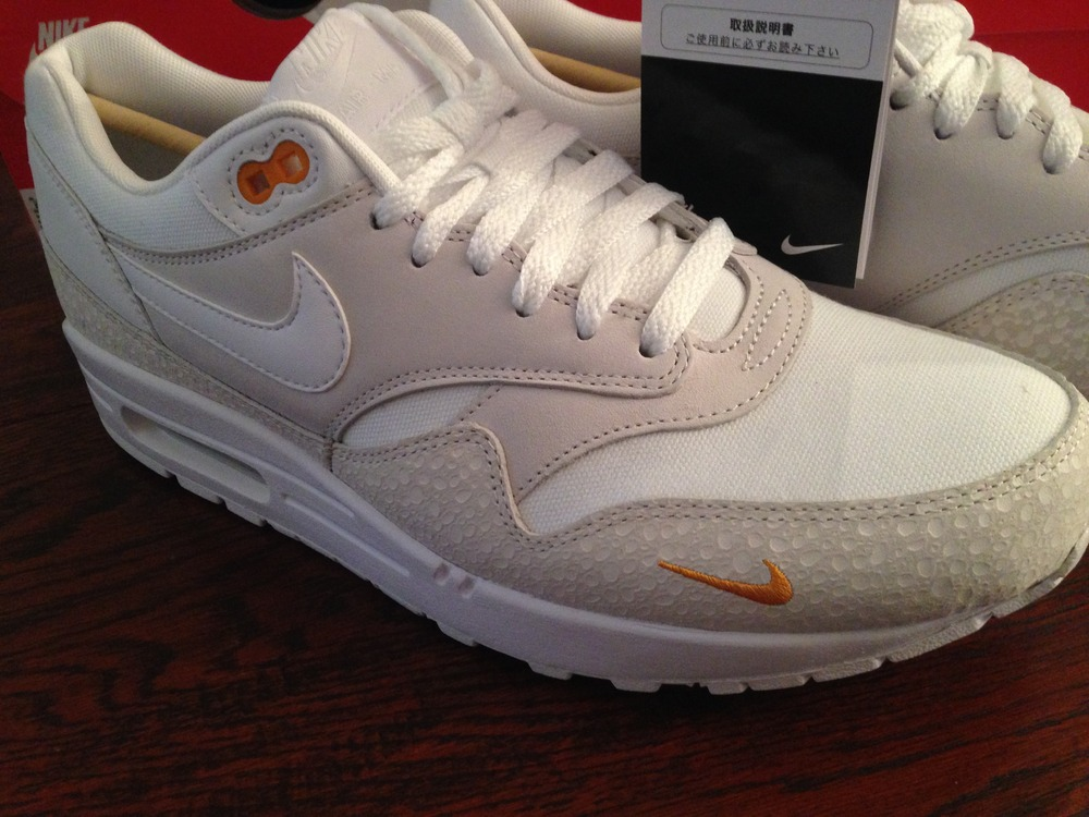 Air Max 1 Premium White Kumquat leoncamier.co.uk