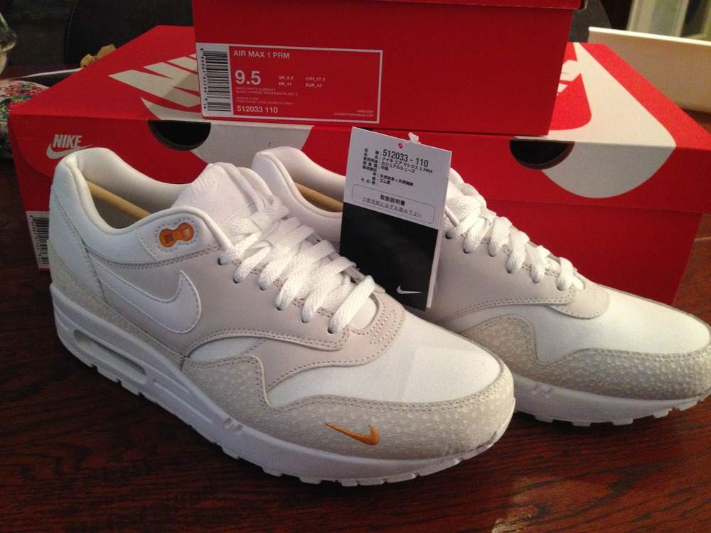 Nike Air Max 1 Premium Kumquat leoncamier.co.uk