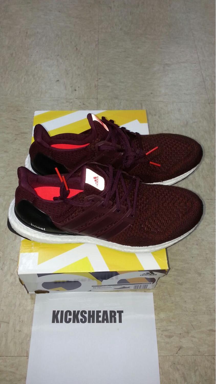 c5a8d32b4 ... Adidas Ultra Boost  Burgundy  Very limited AF5836 Kanye ...