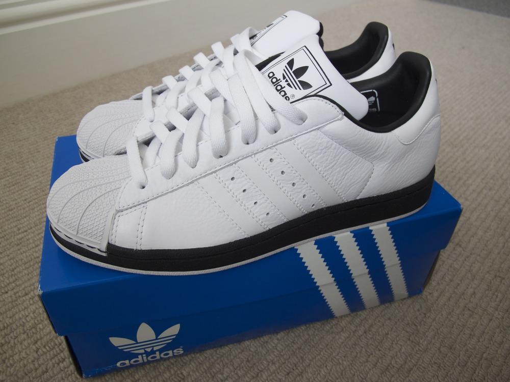 adidas Originals Superstar Foundation White Sneakers B27136 ce366eda8af3b