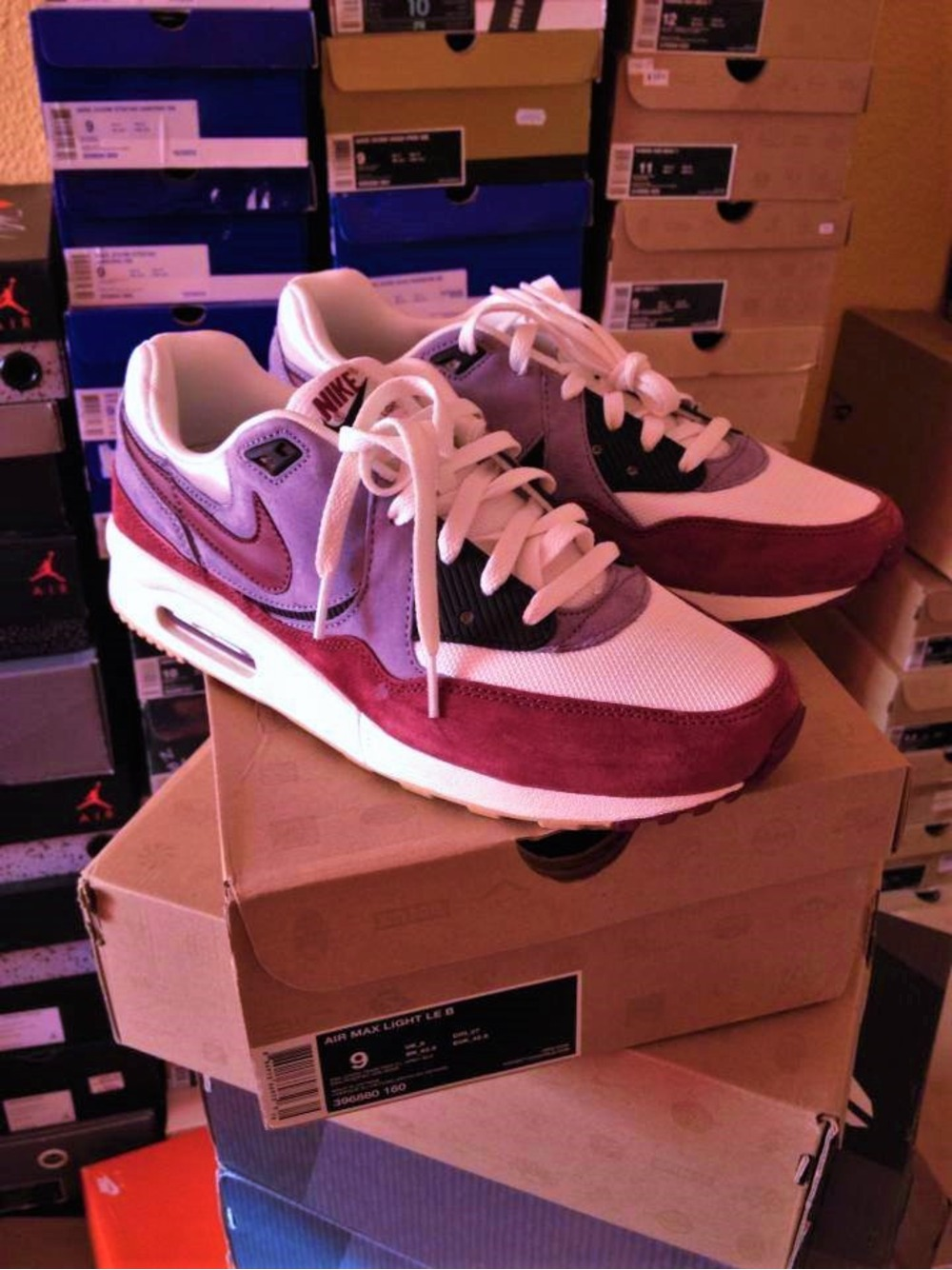 pretty nice f3f3b 0b160 ... Nike x Size AIR MAX LIGHT LE B US 9 EU 42.5 Suede amp ...