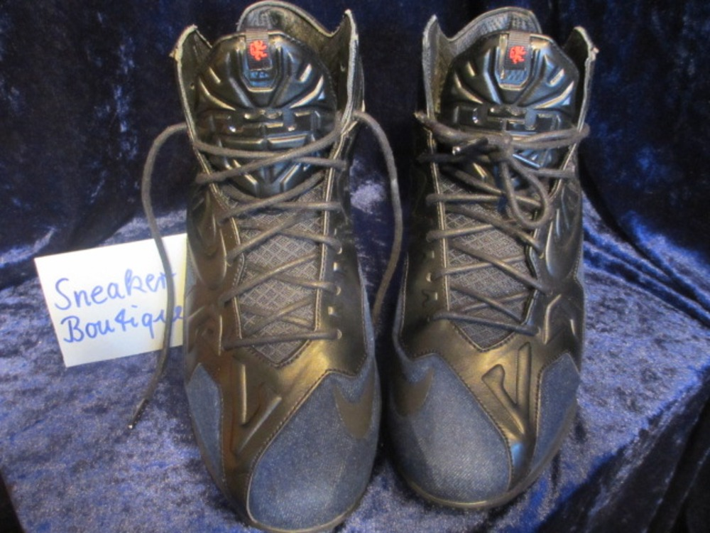 watch 1a667 8599c Lebron 11 EXT QS Denim 659509 004