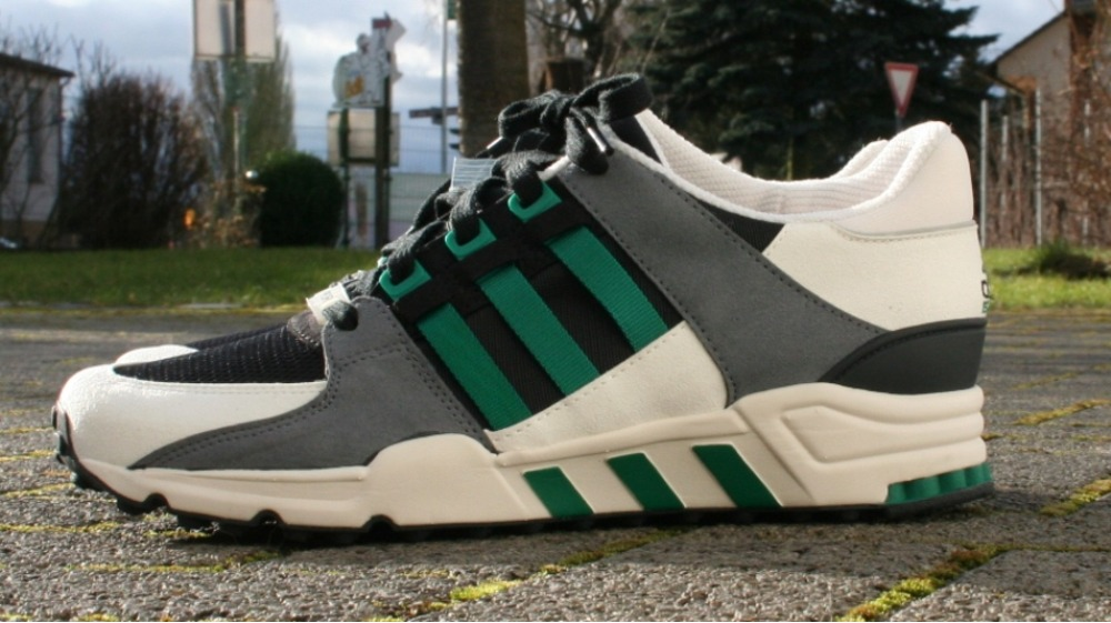buy popular 1ccd5 85c76 Adidas EQT Support 93 (Core Black, Sub Green  Hemp) END.