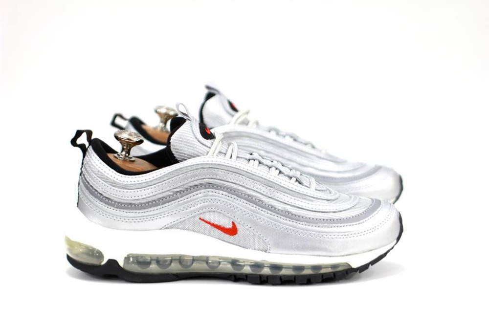 new concept d4df2 f3a60 Cheap Nike Air Max 97 Silver Bullet Trainers Black Friday Sale
