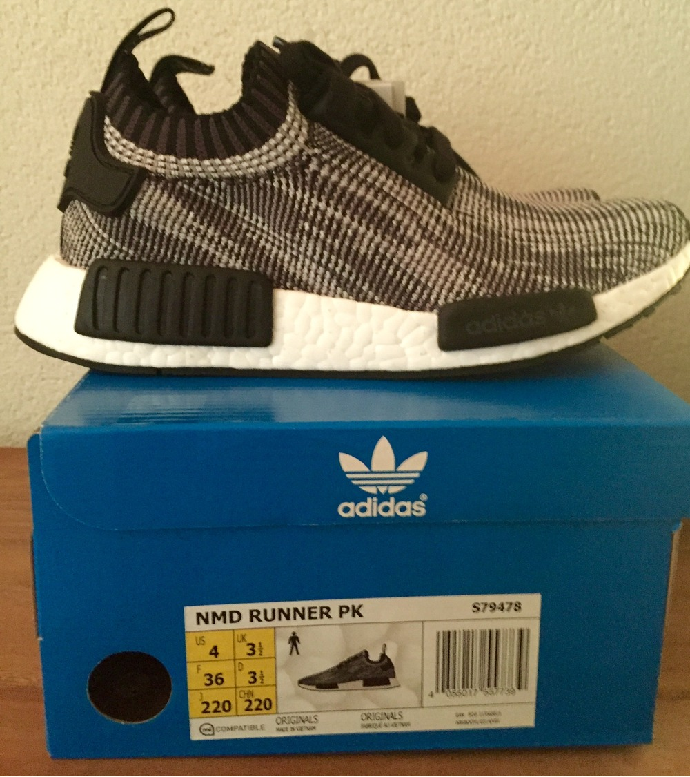 54e9df9c59381 Video Review  Adidas NMD Runner PK OREO EU 42.2 3 S79478 - photo 1 4
