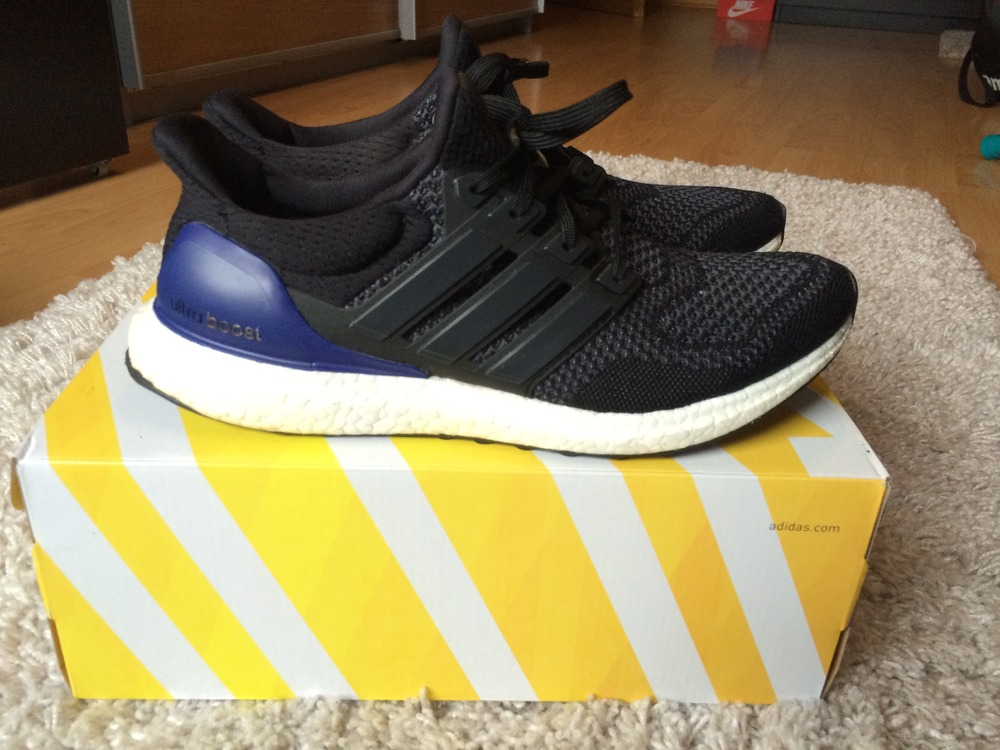 competitive price 033f7 87549 ... Adidas ultra boost black purple