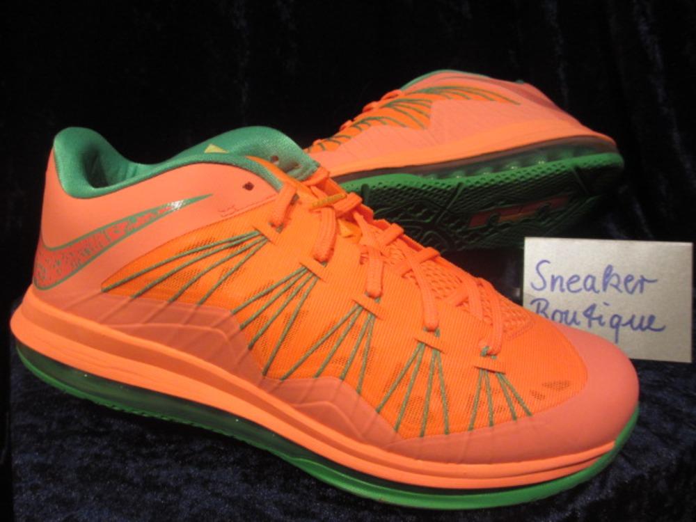 buy online fead2 fe2e8 lebron x low watermelon 975879 klekt nike ...