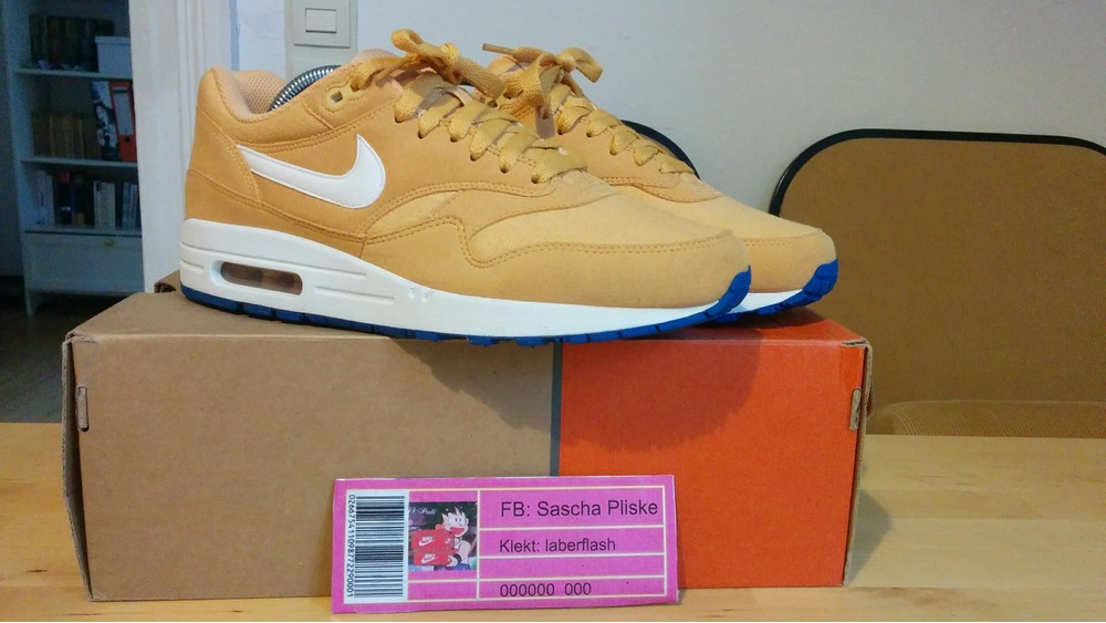 b4e1a5f86f Nike Air Max 1 Honeycomb 308866-700 US 8,5 UK 7, ...
