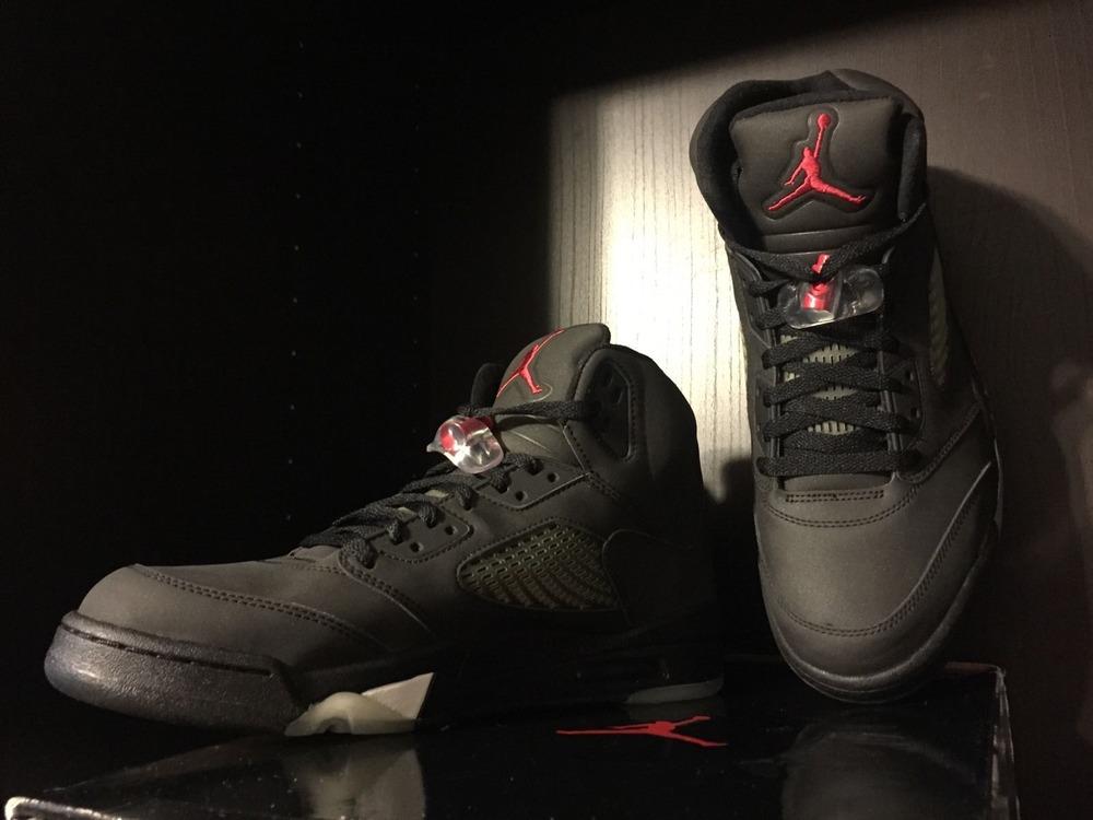 ... 2009 Nike Air Jordan 5 V Retro DMP Raging Bull 3M - Black - Size 11.5  ... 2f30ce73f